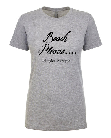 Beach Please - T-Shirt - Brooklyn T Factory