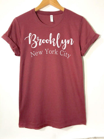 Brooklyn New York City -  T-Shirt - Brooklyn T Factory