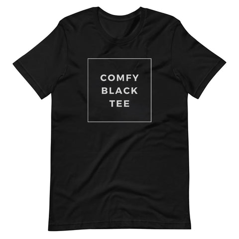 Comfy Tees - Unisex T-Shirts Funny / Humor/ Great Gift / Lounge wear / Sleep wear / Pajama / Work Home - Brooklyn T Factory