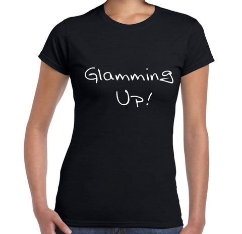 Glamming Up - Women's T-Shirt - Brooklyn T Factory