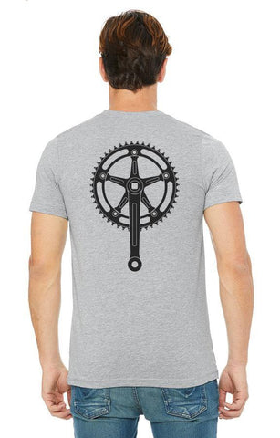 Bicycle Crank -  T-Shirt - Brooklyn T Factory