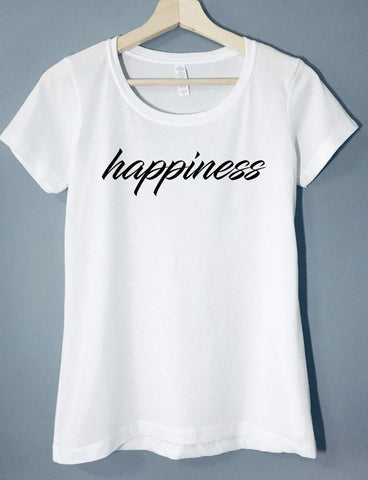 happiness - T-Shirt - Brooklyn T Factory