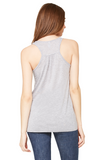Coco made me do it - Women's Flowy Racerback Tank Top - Brooklyn T Factory
