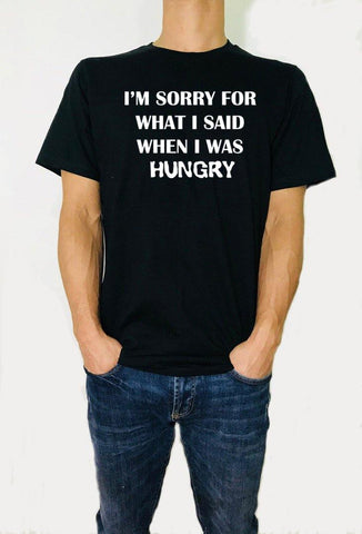 I'm sorry for what I said - Unisex T-Shirt - Brooklyn T Factory