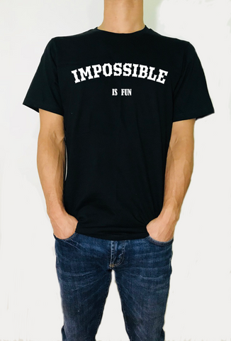 Impossible is fun -  T-Shirt - Brooklyn T Factory