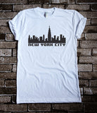 New York City in 8bit - T-Shirt - Brooklyn T Factory