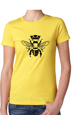 Queen Bee - Women's T-Shirt - Brooklyn T Factory