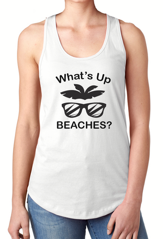 What's Up Beaches - Tank Top - Brooklyn T Factory
