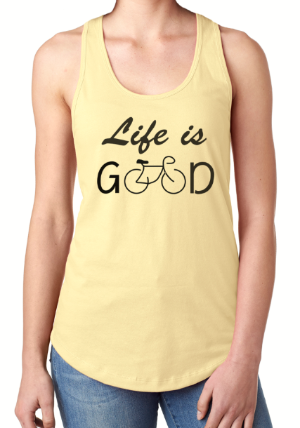 Life is Good - Tank Top - Brooklyn T Factory