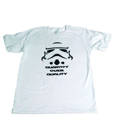 "Quantity over Quality  ""Star Wars""- T-shirts - Brooklyn T Factory"
