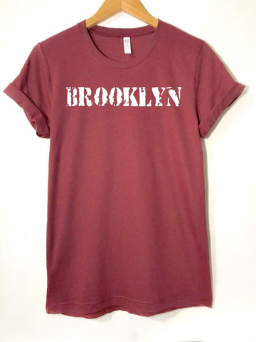 Cardinal Vintage Brooklyn  -  T-Shirt - Brooklyn T Factory