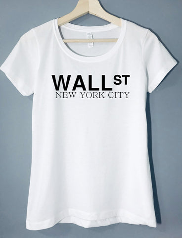 Wall Street NYC - Women's T-Shirt - Brooklyn T Factory