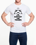 Storm Troopers Support The Troops Memorial Day-  Unisex T-Shir