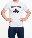 Let's go camping -  Unisex T-Shirt - Brooklyn T Factory
