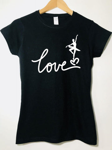 Love Ballet - T-shirt - Brooklyn T Factory