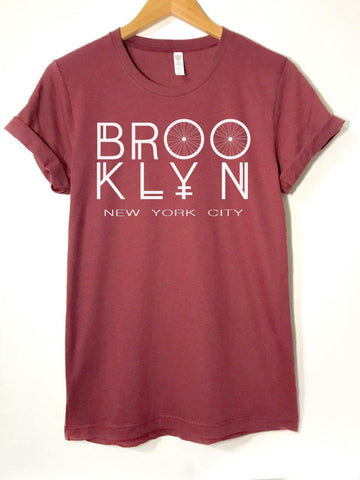 Cardinal Brooklyn NYC -  T-Shirt - Brooklyn T Factory