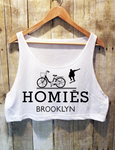Homiēs Brooklyn - Crop Top - Brooklyn T Factory