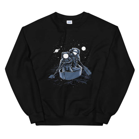 Astronaut Across the Galaxy Unisex Sweatshirt Gift for Astronaut dreamers - Brooklyn T Factory