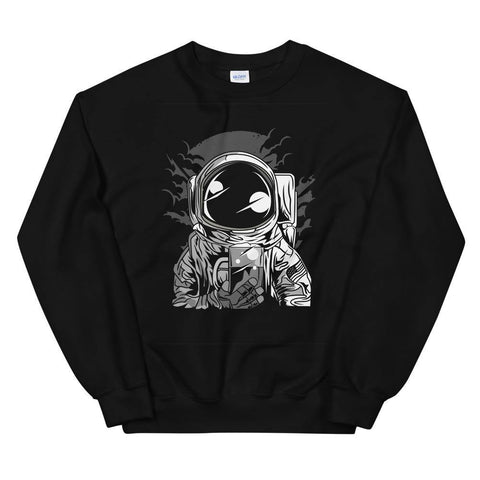 Astronaut Drinking Beer Soft Funny Unisex Sweatshirt Great Gift For Beer Lovers - Brooklyn T Factory