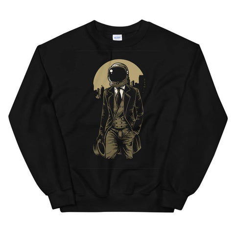 Astronaut in Stylish Suit Soft Comfortable Funny Unisex Sweatshirt - Brooklyn T Factory
