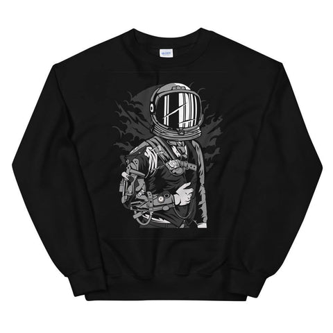Astronaut Steampunk Soft Comfortable Cozy Funny Unisex Sweatshirt - Brooklyn T Factory