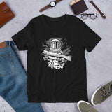 Astronaut Fishing Unisex T-Shirt - Brooklyn T Factory
