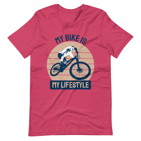 MTB Life Style Unisex T-Shirt gift for Cyclist Moutain Bikers Bikepacking Adventure Outdoor Sports - Brooklyn T Factory
