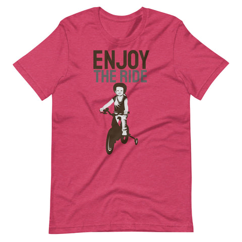 Enjoy the Ride - Unisex T-Shirt Great Gift for Cyclist - Brooklyn T Factory