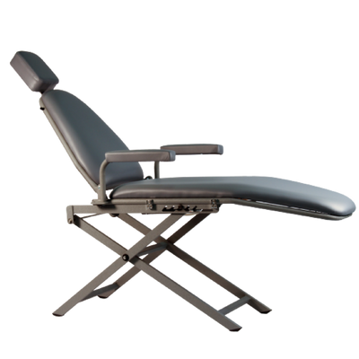 Basic Portable Patient Chair with Scissors Base