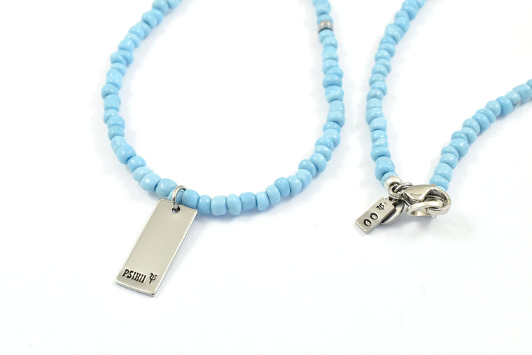 'PLAKA BLUE' Necklace