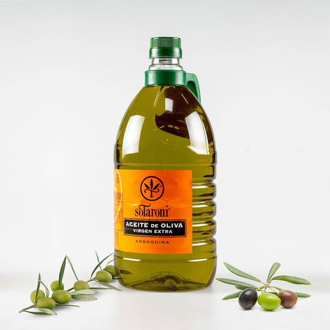 Huile d'Olive Virgin Extra Arbequina Carafe.