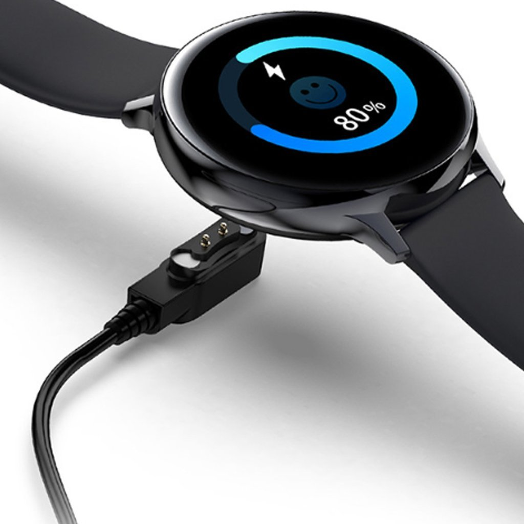 Smart Watch Round Face Health Monitoring and Activity Tracker Charger