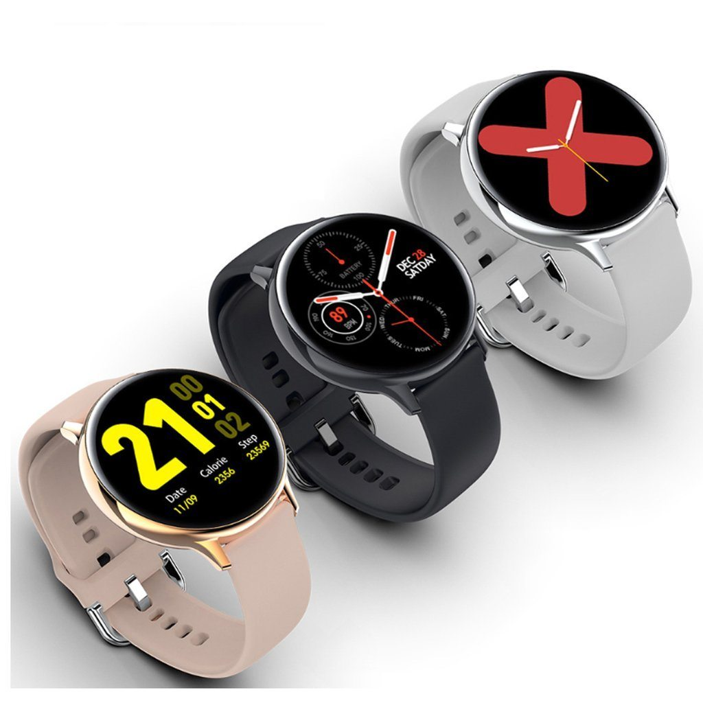 Smart Watch Round Face Health Monitoring and Activity Tracker Smartwatches