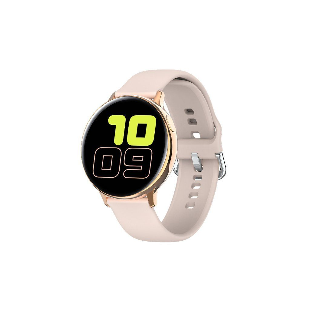 Smart Watch Round Face Health Monitoring and Activity Tracker Smartwatches PINK