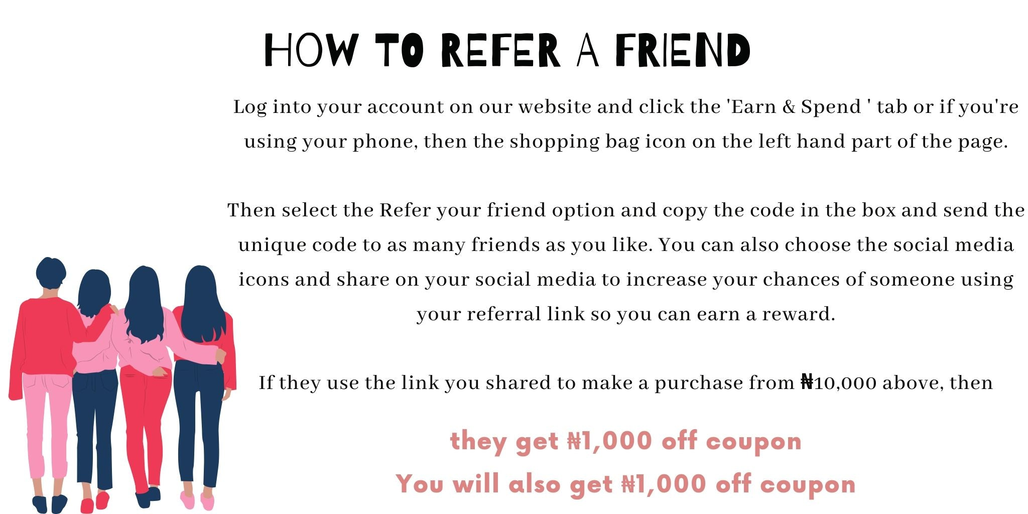 How to refer a friend for hanpeau points
