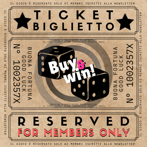 "TICKET ""La Lotteria"" - Shop-montenapoleonestore.com"