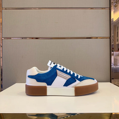 SNEAKERS MIAMI IN MIX MATERIALI - Shop-montenapoleonestore.com