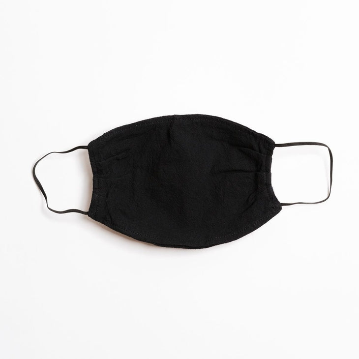 Soul Perch-Black Face Mask - Black Elastic