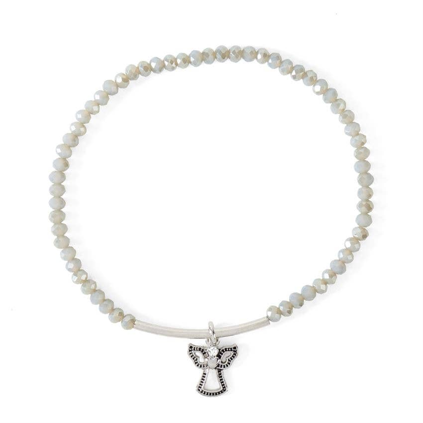 My Guardian Angel Bracelet Grey