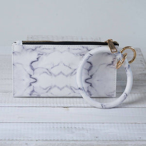 Bracelet Keychain and Wristlet Marble