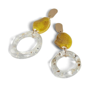 Marigold Sparkle Earring