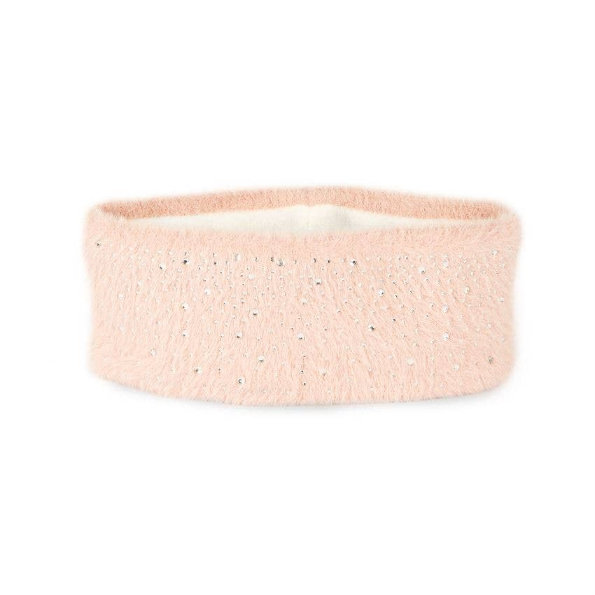 Sugarplum Fleece Lined headband Pink
