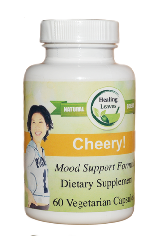 Cheery!  Mood Support* - www.SuperHerbals.com