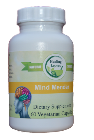 Mind Mender Brain/Memory Support - www.SuperHerbals.com