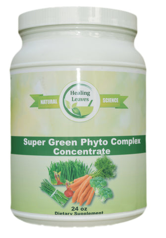 Super Green Phyto Complex  24 OZ  Concentrate Economy Size - www.SuperHerbals.com - 1