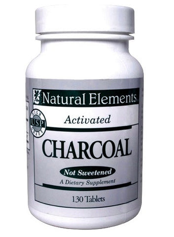 Charcoal Tablets - www.SuperHerbals.com