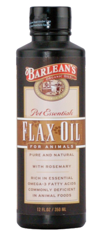 Pet Essentials  Flaxseed Oil For Animals - www.SuperHerbals.com