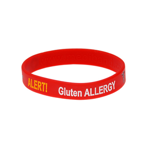Gluten Allergy Alert Wristband