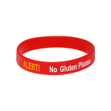 Load image into Gallery viewer, Gluten Allergy Alert Wristband