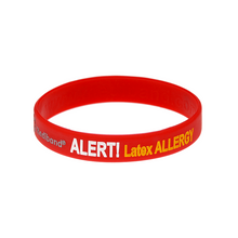 Load image into Gallery viewer, Latex Allergy Wristband